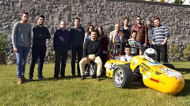 Atılım Üniversitesinin Hybrid Arabası Amerikan Üniversitelerini Geride Bıraktı