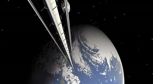 Asansör İle Uzaya Çıkmaya Ne Dersiniz?