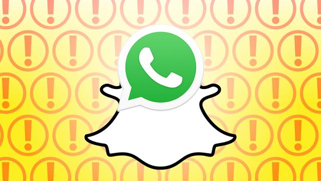 WhatsApp, Snapchat'in Hikayeler Özelliğine Sahip Olacak