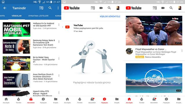 YouTube'un Tasarımı ve Logosu Değişti, Sürpriz Özellikler Geldi