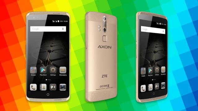 ZTE'den Dev Gibi Telefon: Axon MAX