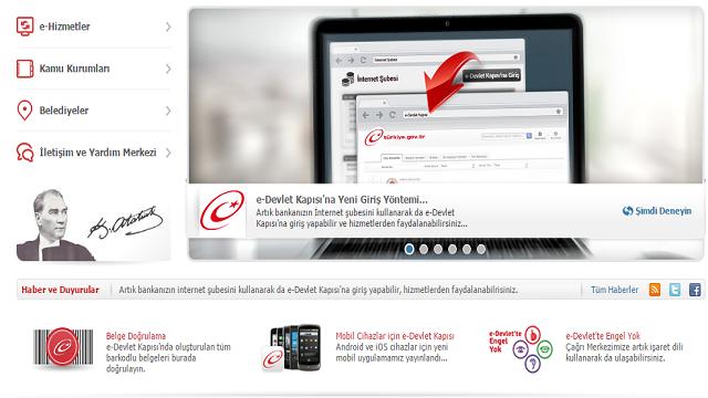 E-Devlet Kapısından Tartışılacak Karar! İnternet Bankacılığı İle Giriş Kafalarda Soru İşareti Bırakıyor!