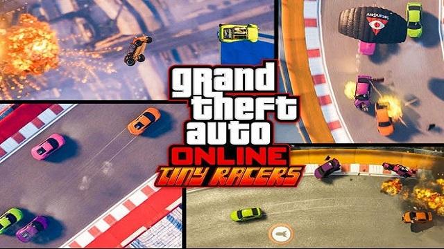GTA 5 Online Tiny Racers Güncellemesi Yayınlandı