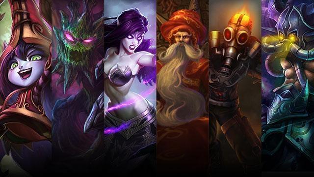 League of Legends - Şampiyon ve Kostüm İndirimleri (6 Haziran - 9 Haziran)