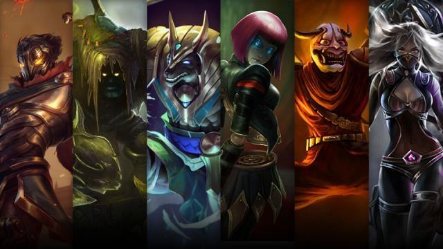 League of Legends  - Şampiyon ve Kostüm İndirimi (7 Kasım - 10 Kasım)