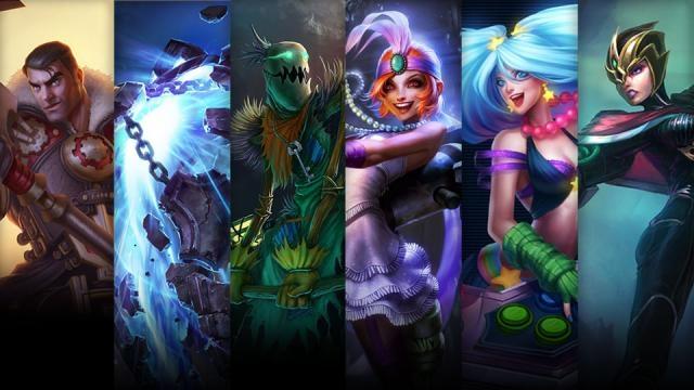 League of Legends - Şampiyon ve Kostüm İndirimi (14 Ekim - 17 Ekim)