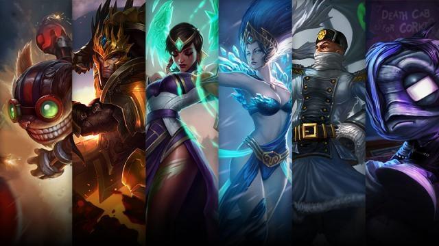 League of Legends - Şampiyon ve Kostüm İndirimi (30 Ocak - 2 Şubat)