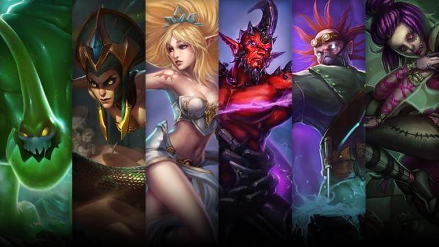 League of Legends - Şampiyon ve Kostüm İndirimleri (26 Eylül - 29 Eylül)
