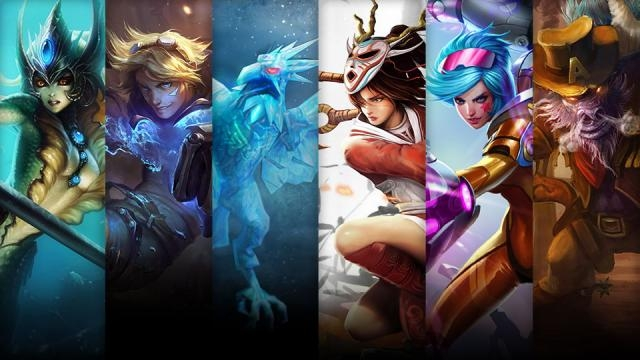 League of Legends - Şampiyon ve Kostüm İndirimi (18 Kasım - 21 Kasım)