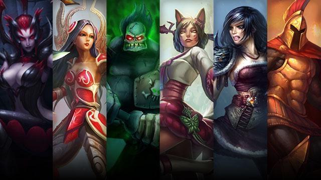 League of Legends - Şampiyon ve Kostüm İndirimleri (4 Temmuz - 7 Temmuz)
