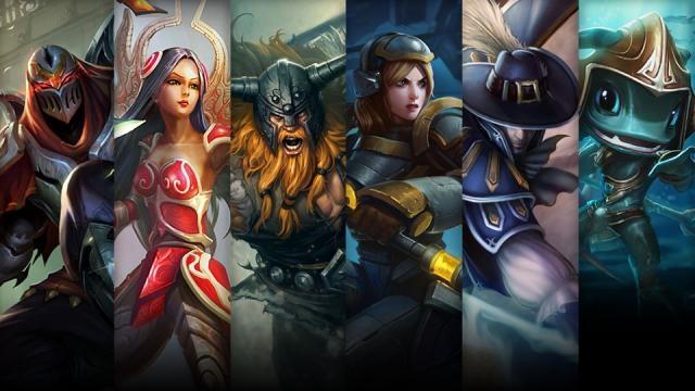League of Legends - Şampiyon ve Kostüm İndirimi (17 Ekim - 20 Ekim)