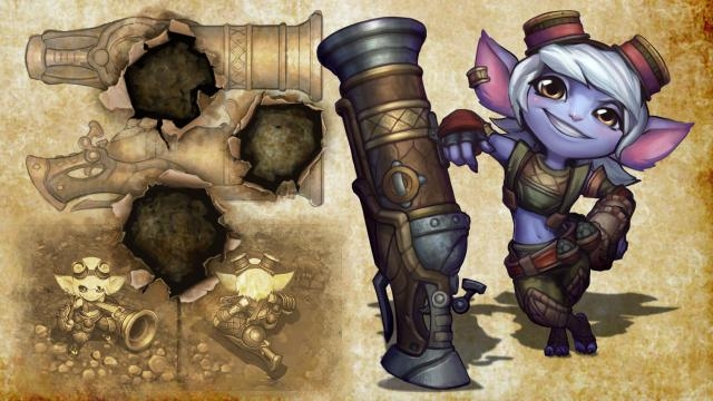 League of Legends - Tristana Güncellendi!