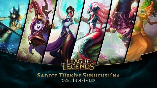 League of Legends - Türkiye Sunucusuna Özel İndirimler (30 Mayıs - 1 Haziran)