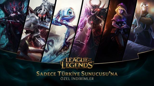 League of Legends - Türkiye Sunucusu'na Özel İndirimler (26 Eylül - 28 Eylül)