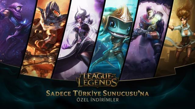 League of Legends - Türkiye Sunucusu'na Özel İndirimler (20 Şubat - 22 Şubat)