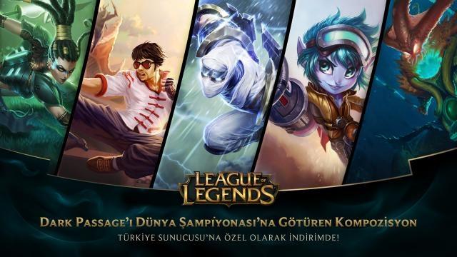 League of Legends - Türkiye Sunucusu'na Özel İndirimler (15 Ağustos - 17 Ağustos)