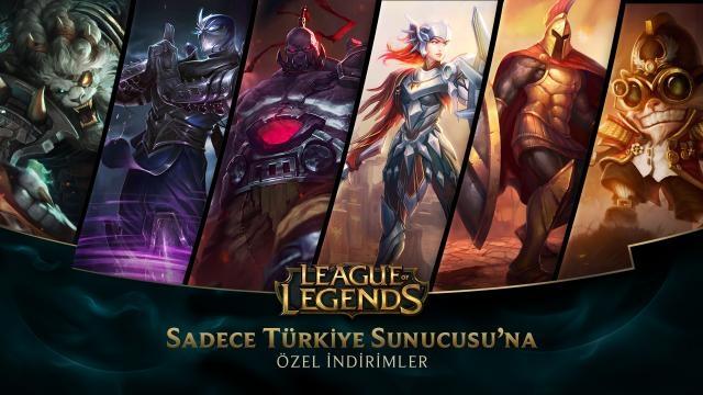 League of Legends - Türkiye Sunucusu'na Özel İndirimler (7 Şubat - 9 Şubat)