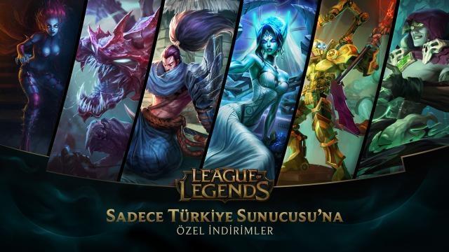 League of Legends - Türkiye Sunucusu'na Özel İndirimler (12 Haziran - 14 Haziran)