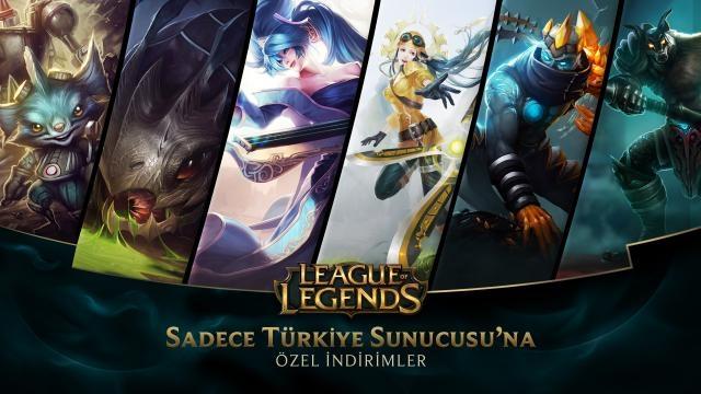 League of Legends - Türkiye Sunucusu'na Özel İndirimler (24 Ekim - 26 Ekim)