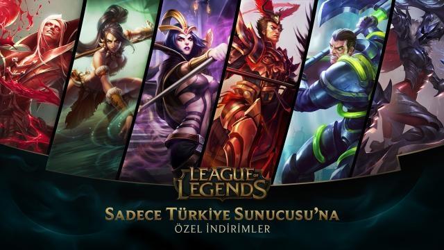 League of Legends - Türkiye Sunucusu'na Özel İndirimler (26 Haziran - 28 Haziran)