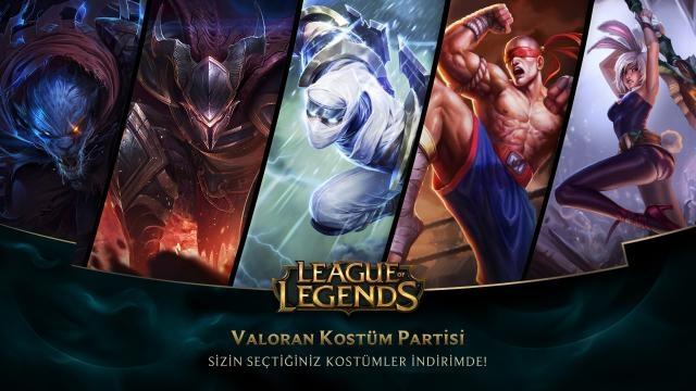 League of Legends - Türkiye Sunucusu'na Özel İndirimler (Valoran Kostüm Partisi)