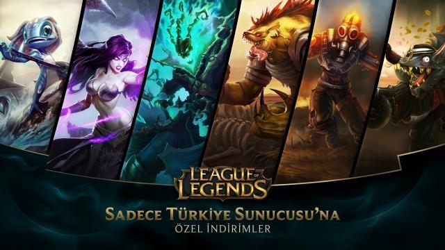 League of Legends - Türkiye Sunucusu'na Özel İndirimler (12 Aralık - 14 Aralık)