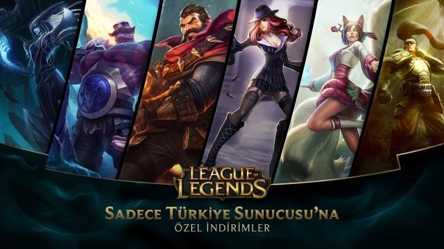 League of Legends - Türkiye Sunucusu'na Özel İndirimler (2 Ocak - 4 Ocak)