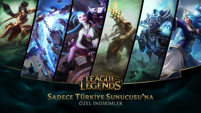 League of Legends - Türkiye Sunucusu'na Özel İndirimler (5 Aralık - 7 Aralık)