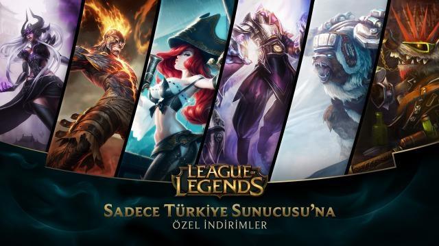 League of Legends - Türkiye Sunucusu'na Özel İndirimler (31 Ekim - 2 Kasım)