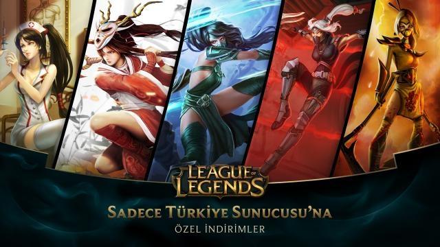 League of Legends - Türkiye Sunucusu'na Özel İndirimler (17 Ekim - 19 Ekim)