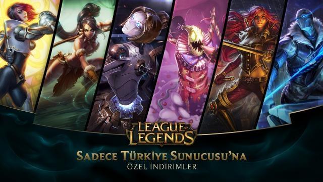 League of Legends - Türkiye Sunucusu'na Özel İndirimler (30 Ocak - 1 Şubat)