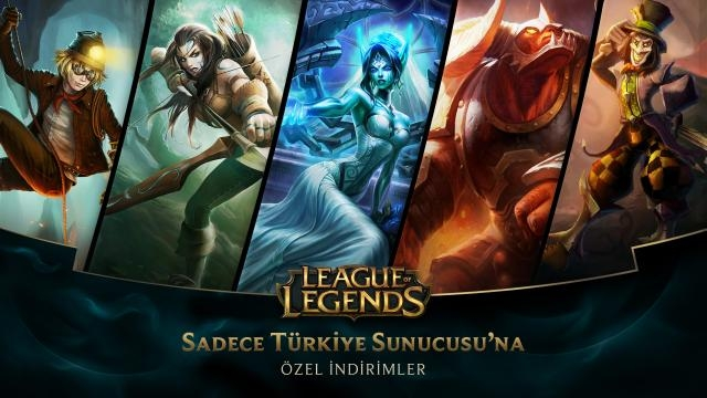 League of Legends - Türkiye Sunucusu'na Özel İndirimler (9 Ocak - 11 Ocak)