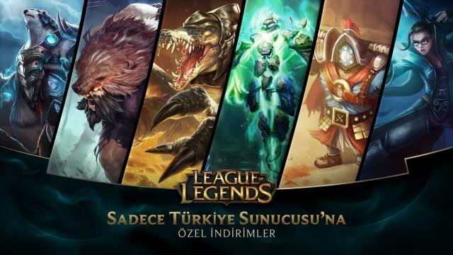 League of Legends - Türkiye Sunucusu'na Özel İndirimler (19 Aralık - 21 Aralık)