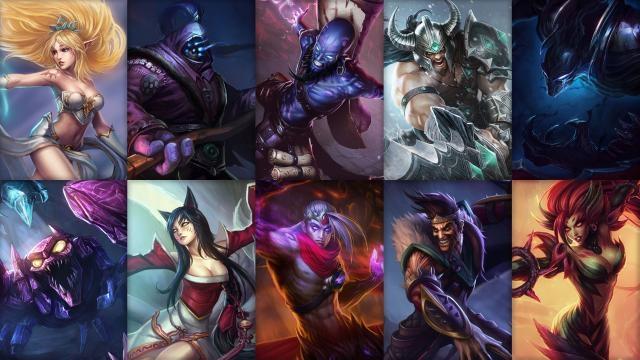 League of Legends - Ücretsiz Şampiyon Rotasyonu (2014 Sezonu 12. Hafta)