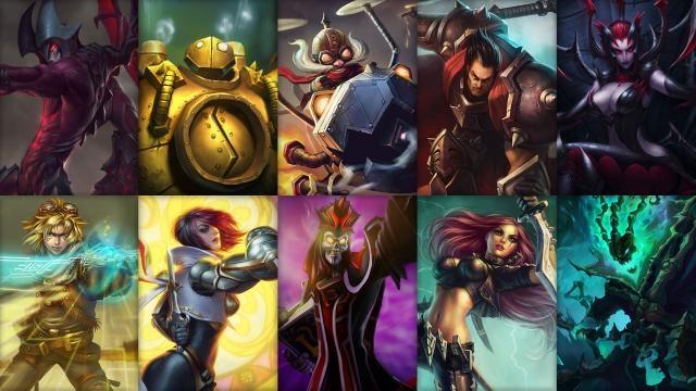 League of Legends - Ücretsiz Şampiyon Rotasyonu (2014 Sezonu 14. Hafta)