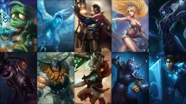 League of Legends - Ücretsiz Şampiyon Rotasyonu (2014 Sezonu 13. Hafta)