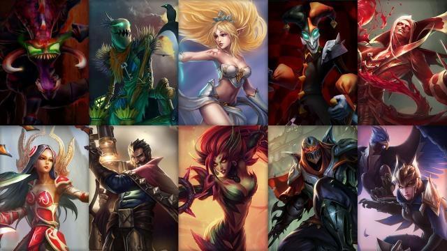 League of Legends - Ücretsiz Şampiyon Rotasyonu (2014 Sezonu 5. Hafta)