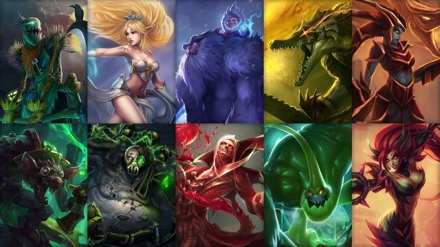 League of Legends - Ücretsiz Şampiyon Rotasyonu (2014 Sezonu 17. Hafta)