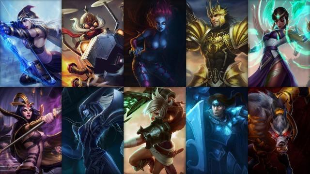 League of Legends - Ücretsiz Şampiyon Rotasyonu (2014 Sezonu, 22. Hafta)