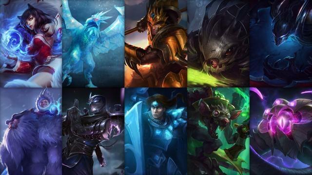 League of Legends - Ücretsiz Şampiyon Rotasyonu (Sezon Öncesi 1. Hafta)