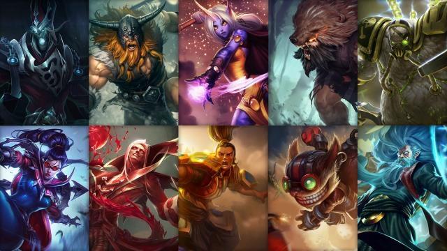 League of Legends - Ücretsiz Şampiyon Rotasyonu (2015 Sezonu, 6 . Hafta)