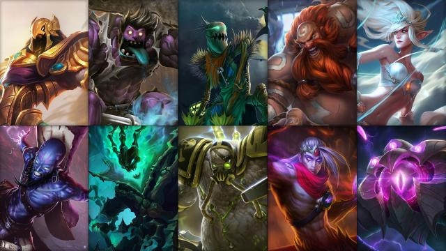 League of Legends - Ücretsiz Şampiyon Rotasyonu (2015 Sezonu, 24. Hafta)