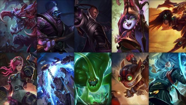 League of Legends - Ücretsiz Şampiyon Rotasyonu (5. Sezon Öncesi 4. Hafta)
