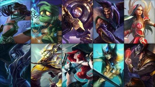 League of Legends - Ücretsiz Şampiyon Rotasyonu (2015 Sezonu, 21. Hafta)