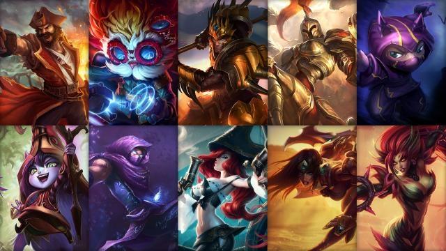 League of Legends - Ücretsiz Şampiyon Rotasyonu (2015 Sezonu, 3. Hafta)