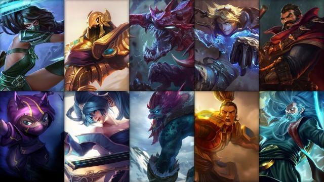 League of Legends - Ücretsiz Şampiyon Rotasyonu (2015 Sezonu, 36. Hafta)