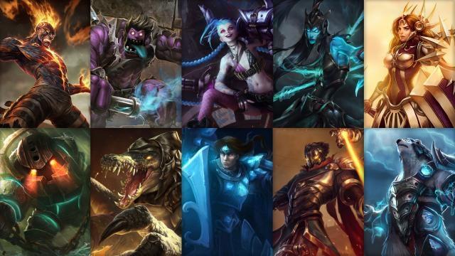 League of Legends - Ücretsiz Şampiyon Rotasyonu (2015 Sezonu, 1. Hafta)