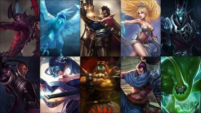 League of Legends - Ücretsiz Şampiyon Rotasyonu (2014 Sezonu, 35. Hafta)