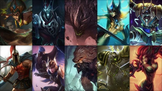League of Legends - Ücretsiz Şampiyon Rotasyonu (5. Sezon Öncesi 5. Hafta)