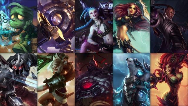 League of Legends - Ücretsiz Şampiyon Rotasyonu (2014 Sezonu, 42. Hafta)